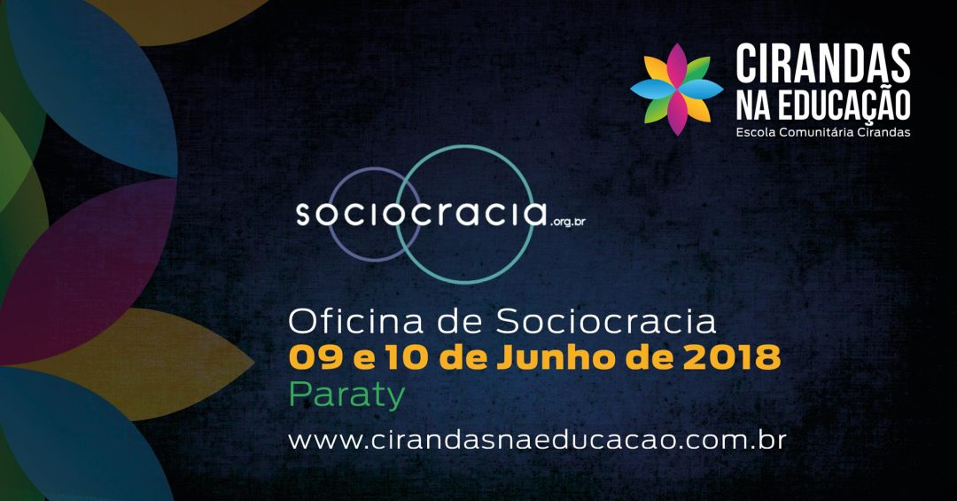 Oficina de Sociocracia em Paraty