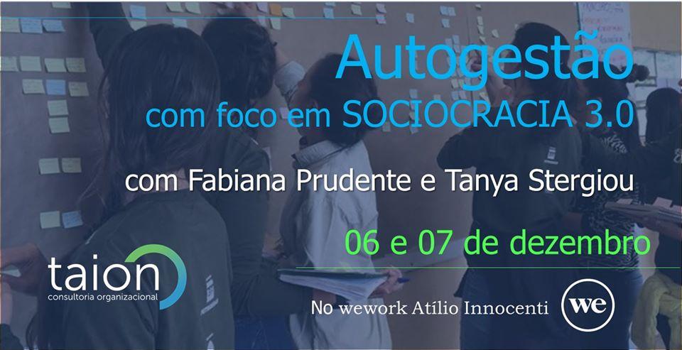 Autogestão com foco em Sociocracia 3.0