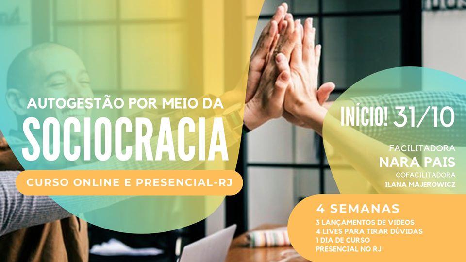 Curso Online e Presencial de Sociocracia – RJ